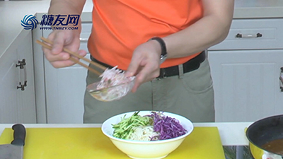 糖尿病食谱系列 :快餐牛肉酱拌面